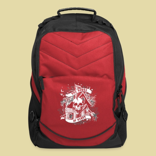 hoh_tshirt_skullhouse - Computer Backpack