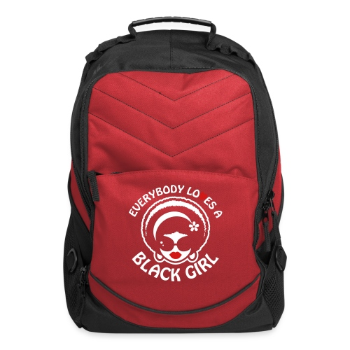 Everybody Loves A Black Girl - Version 1 Reverse - Computer Backpack