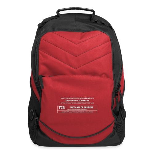 TCB Films Disclamer - Computer Backpack