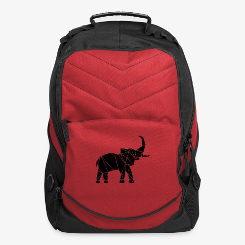 Lowpoly lephant - Computer Backpack