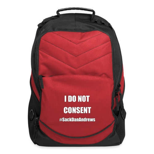 I Do Not Consent - Computer Backpack