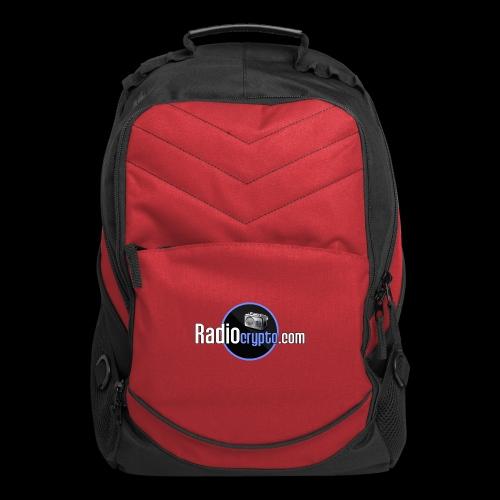 RadioCrypto Logo 1 - Computer Backpack