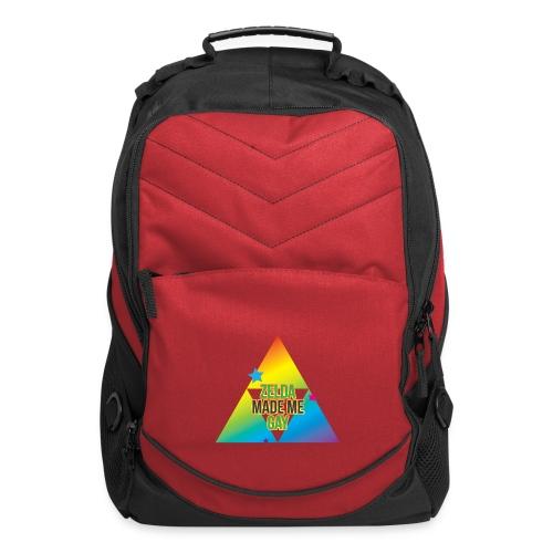 Zelda Made Me Gay - Computer Backpack