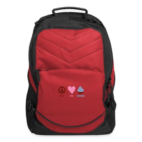 peacelovecupcakes pixel - Computer Backpack
