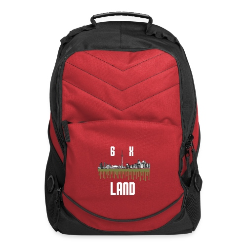 6ixland Logo - Computer Backpack