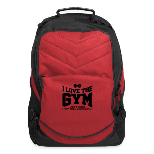 I love the gym - Computer Backpack