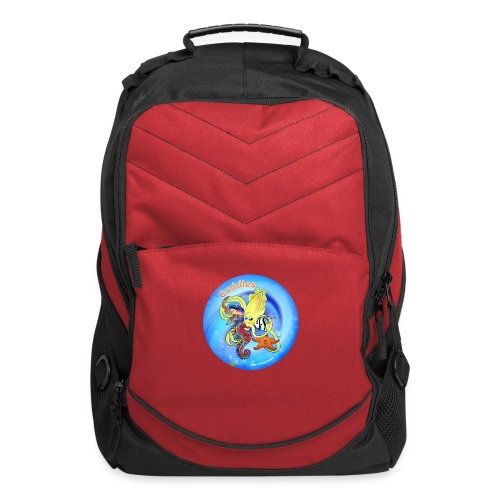 Cuddles clothes print. - Computer Backpack