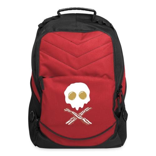 Breakfast Skull - Computer Backpack