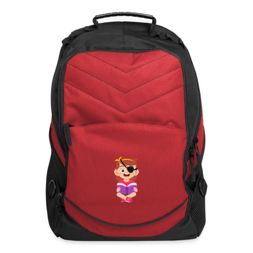 Little girl with eye patch - Computer Backpack