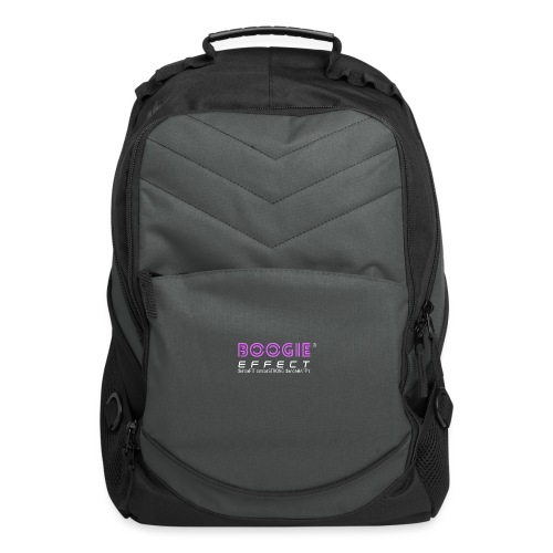 boogie effect fit strong happy logo colour - Computer Backpack