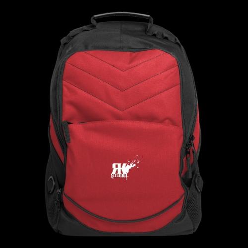 RKStudio White Logo Version - Computer Backpack