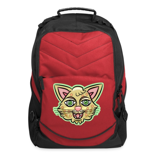 Happy Cat Gold - Computer Backpack