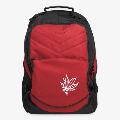 white leaf - Computer Backpack