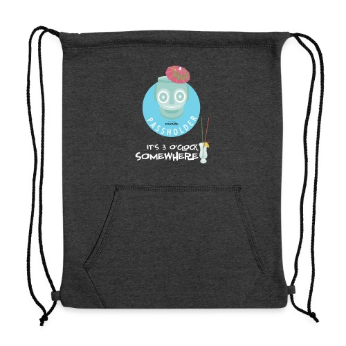 3 O'Clock Somewhere - Sweatshirt Cinch Bag