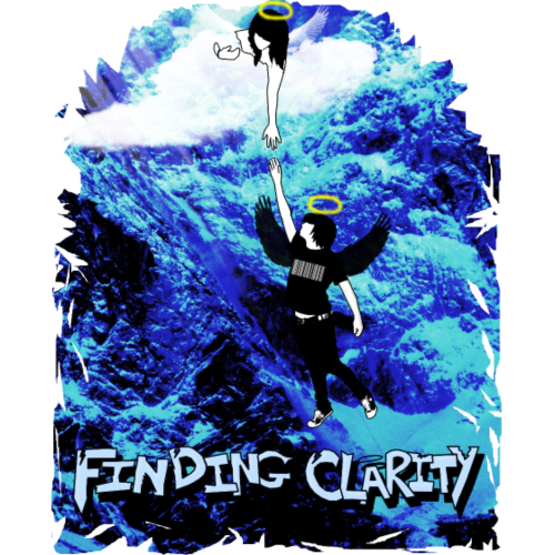 Blue Box LowPoly - Sweatshirt Cinch Bag