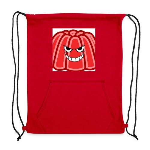 Red jelly kids hoodie - Sweatshirt Cinch Bag