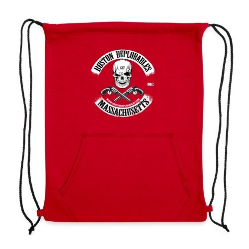 boston deplorable - Sweatshirt Cinch Bag