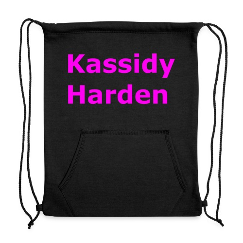 Kassidy Harden - Sweatshirt Cinch Bag