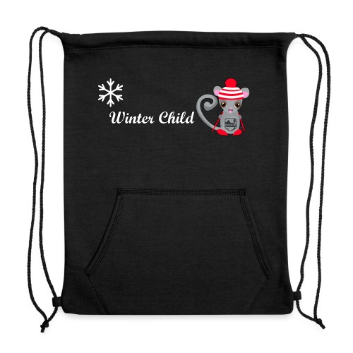 Mountain Winter Fairy - Sweatshirt Cinch Bag