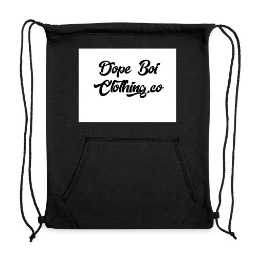 Dope boi logo basic - Sweatshirt Cinch Bag