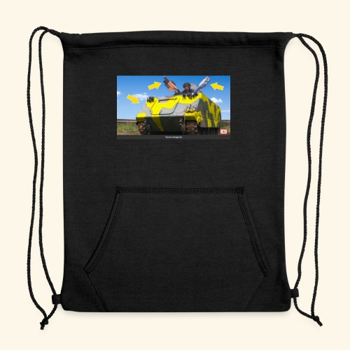 Tank Demolisher - Sweatshirt Cinch Bag