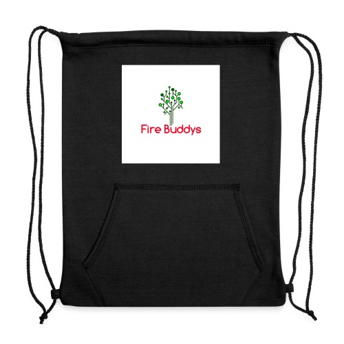 Fire Buddys Website Logo White Tee-shirt eco - Sweatshirt Cinch Bag