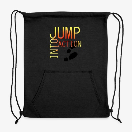 Jump into action - Sweatshirt Cinch Bag