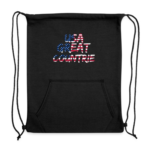 USA IS THE BEST - Sweatshirt Cinch Bag