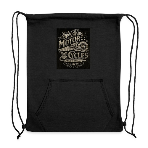 Vintage motorcycle - Sweatshirt Cinch Bag