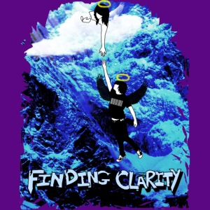 PURPLE AND BLUE WATER DRAGON - Sweatshirt Cinch Bag
