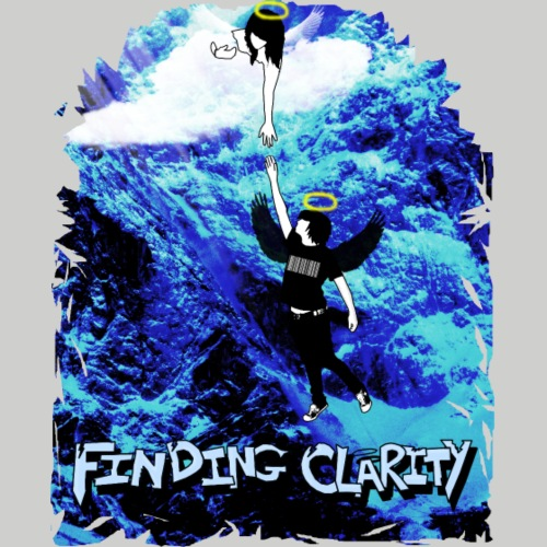 Ol' School Johnny Black and White Lightning Bolt - Sweatshirt Cinch Bag