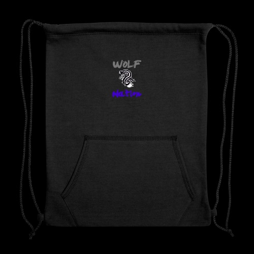 WolfNation size=small - Sweatshirt Cinch Bag