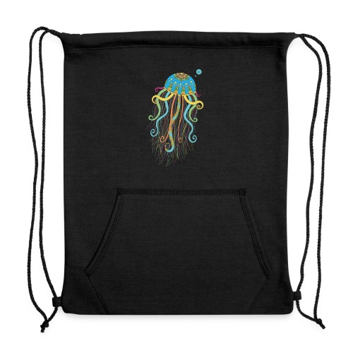 Vis - Jellyfish - Sweatshirt Cinch Bag