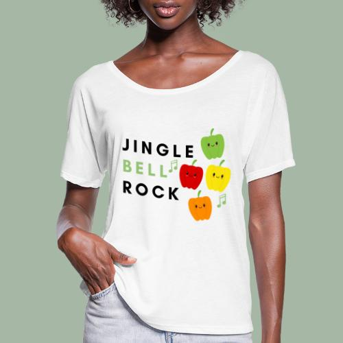 Jingle Bell Rock - Women's Flowy T-Shirt