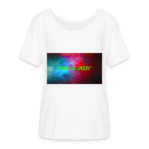 NYAH AND JAZZY - Women's Flowy T-Shirt