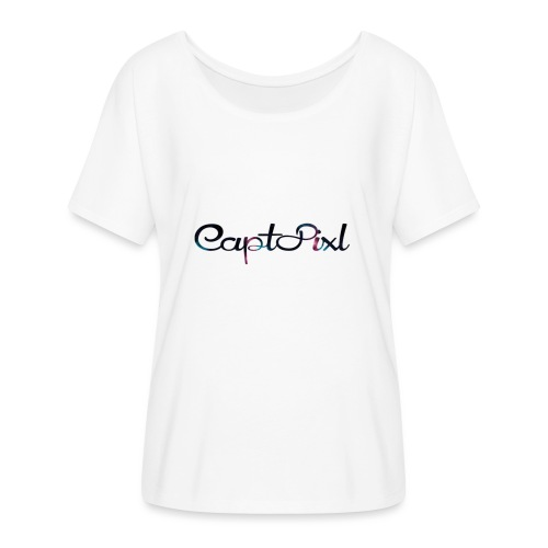 My YouTube Watermark - Women's Flowy T-Shirt