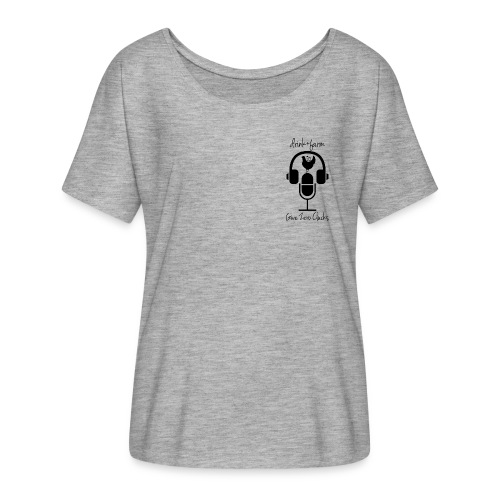 Give Zero Clucks - Women's Flowy T-Shirt
