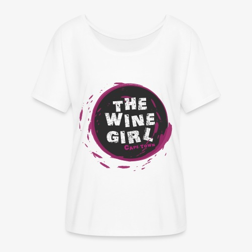 The Wine Girl - Women's Flowy T-Shirt