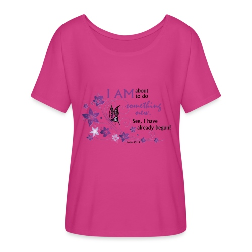 Something new - Women's Flowy T-Shirt