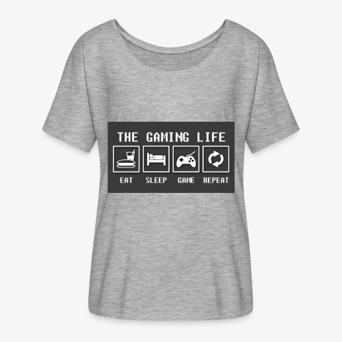Gaming is life - Women's Flowy T-Shirt
