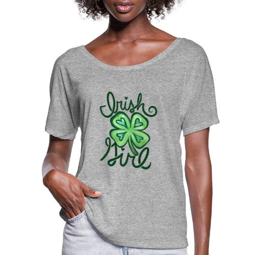 Irish Girl - Women's Flowy T-Shirt