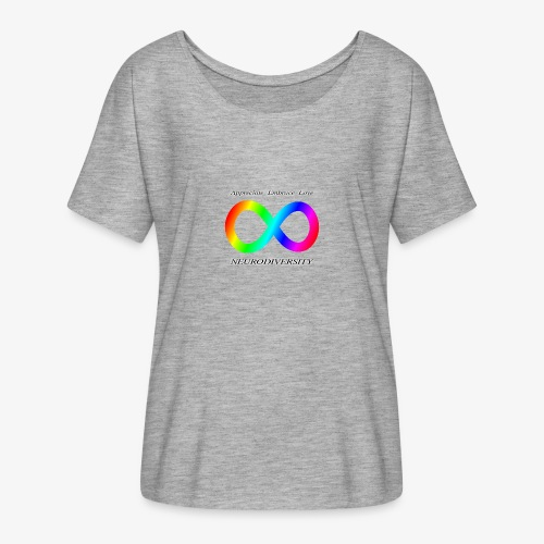 Embrace Neurodiversity - Women's Flowy T-Shirt