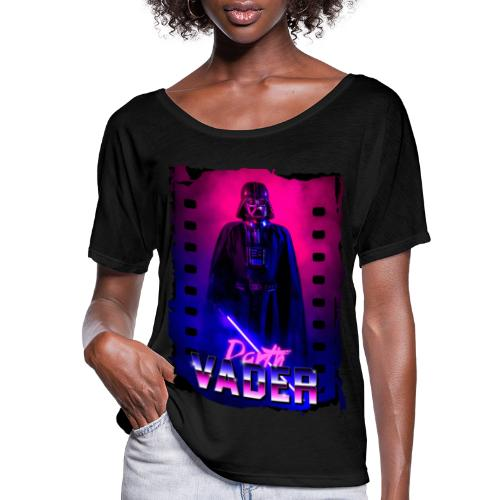 Retro Wave 5 - Women's Flowy T-Shirt