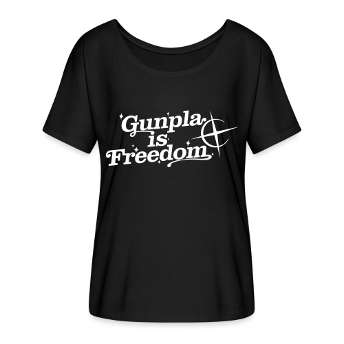 Freedom Men's T-shirt — Banshee Black - Women's Flowy T-Shirt
