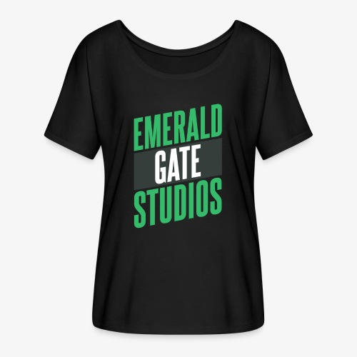 Emerald Gate Action Movie - Women's Flowy T-Shirt