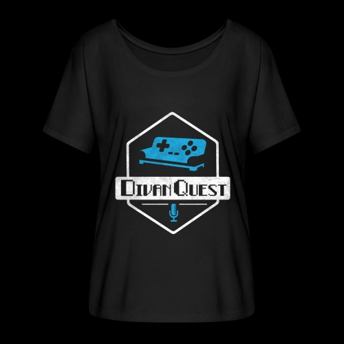 DivanQuest Logo (Badge) - Women's Flowy T-Shirt