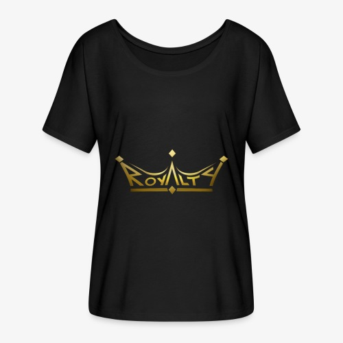 royalty premium - Women's Flowy T-Shirt