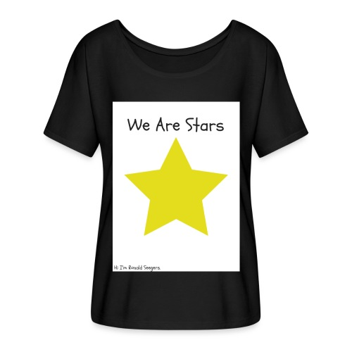 Hi I'm Ronald Seegers Collection-We Are Stars - Women's Flowy T-Shirt