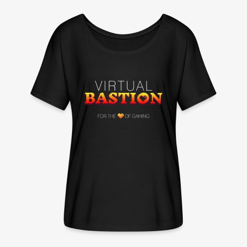 Virtual Bastion: For the Love of Gaming - Women's Flowy T-Shirt