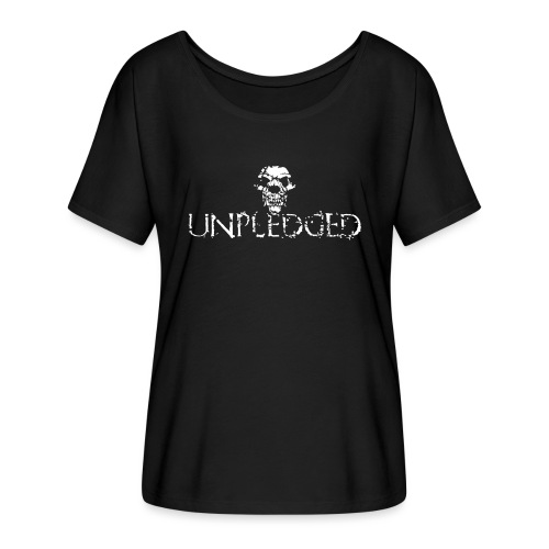 Unpledged - Women's Flowy T-Shirt